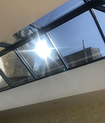 PR Solar film application