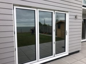 Privacy window film Outside