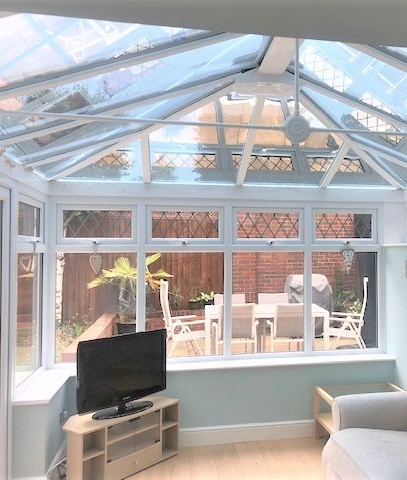 Window film for conservatories