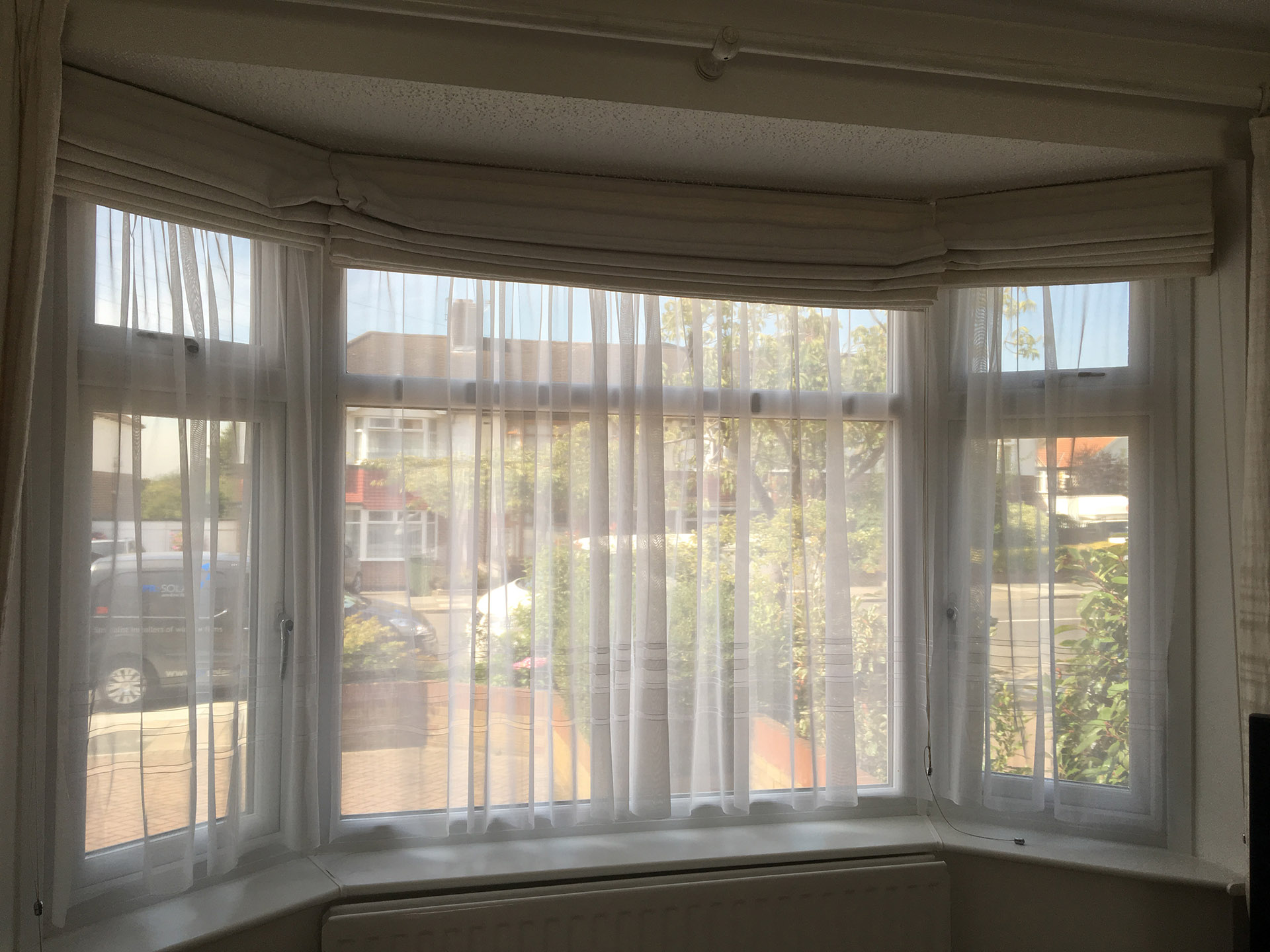 Alternative to net curtains before